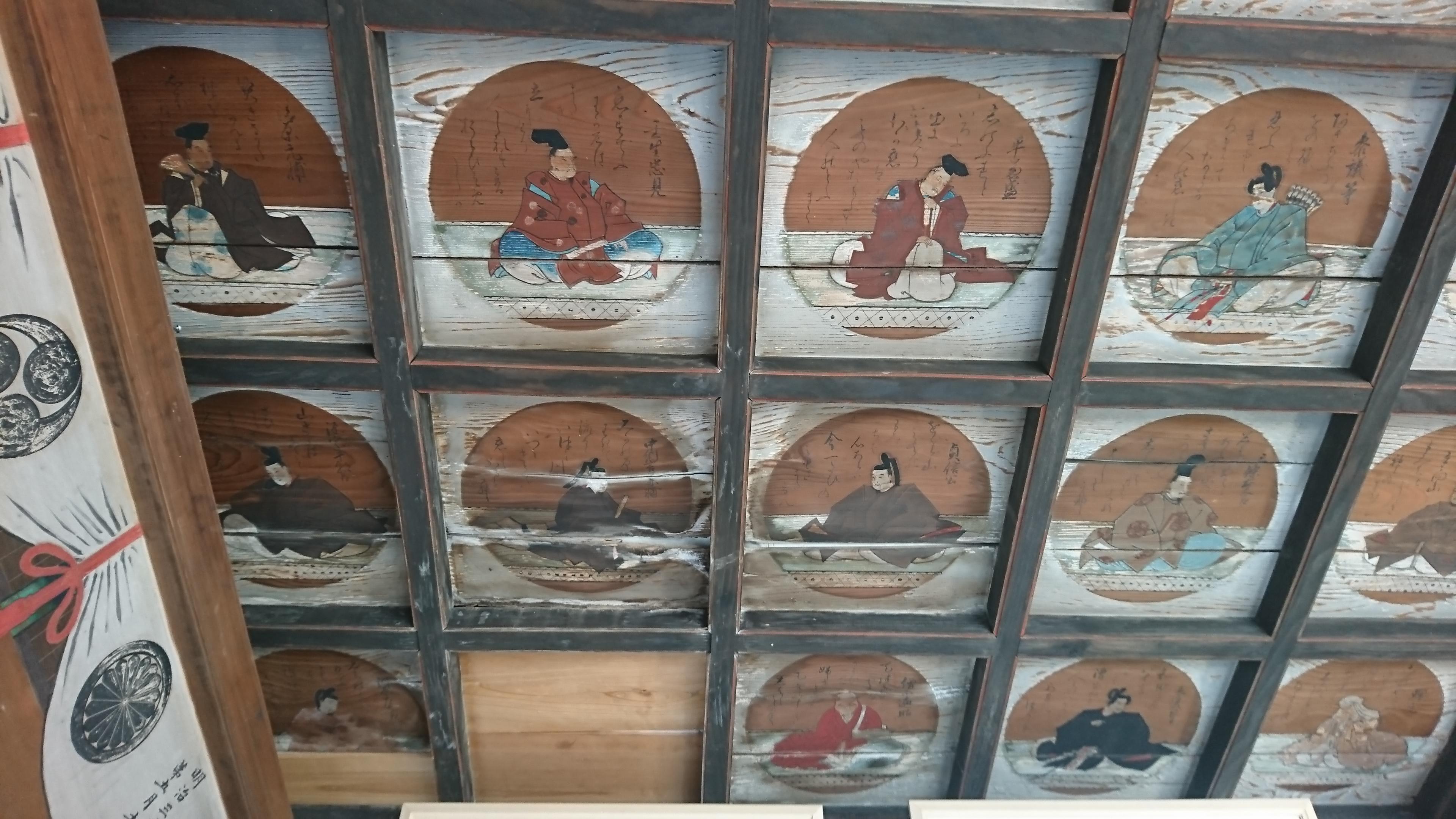 三柱神社の芸術