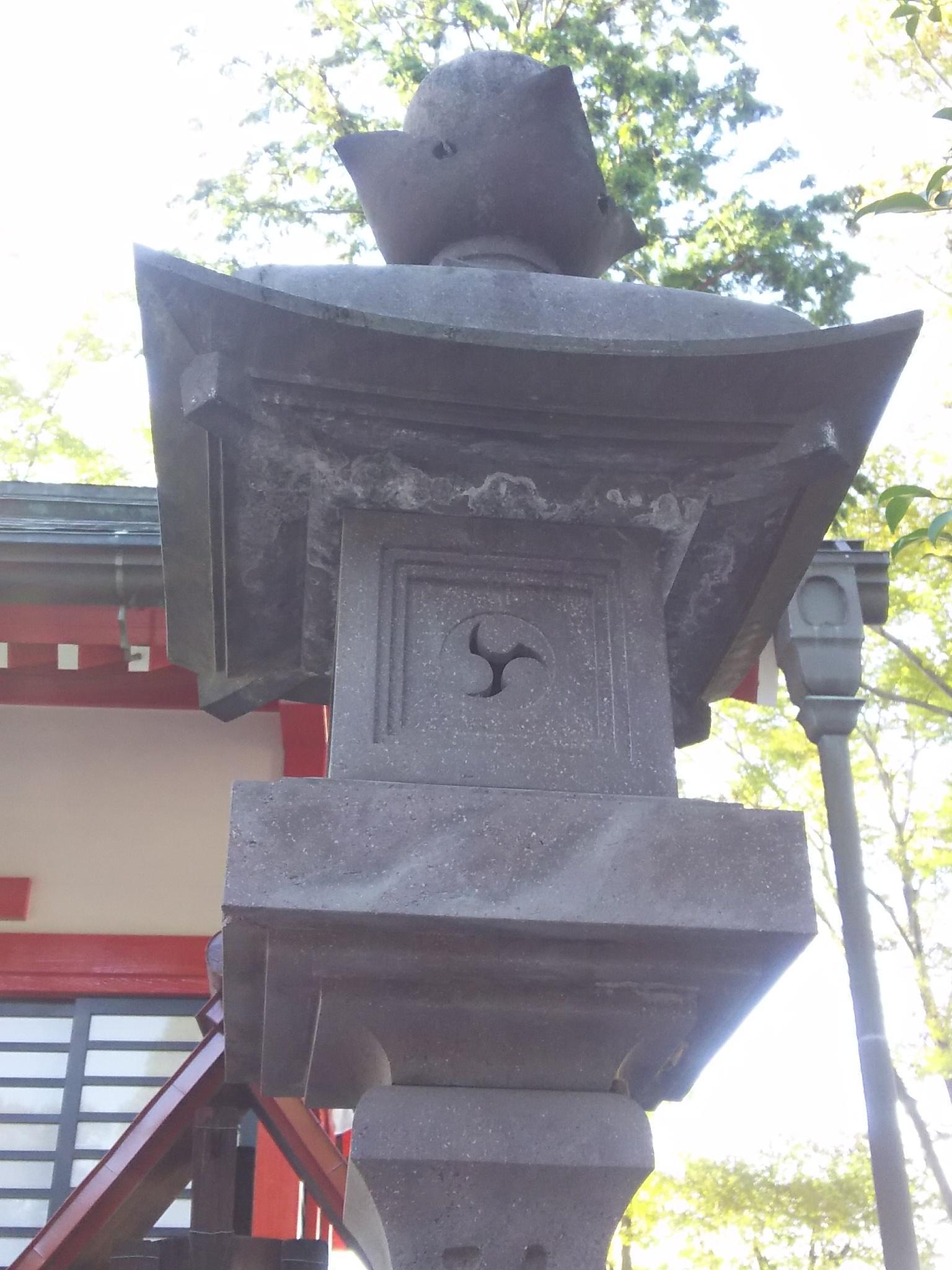 諏訪八幡神社の建物その他(埼玉県飯能駅)