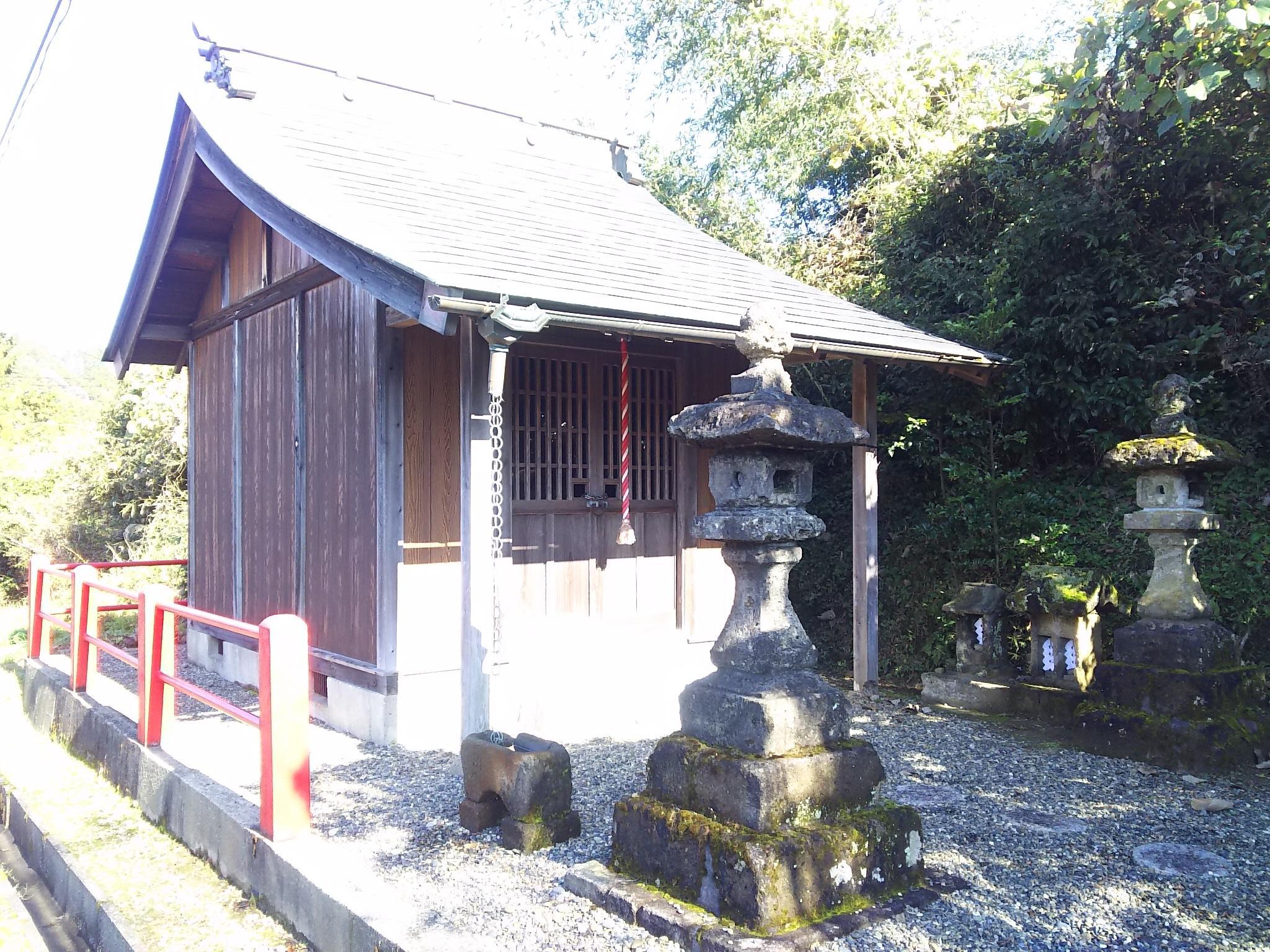 八坂神社の本殿・本堂(千葉県上総亀山駅)