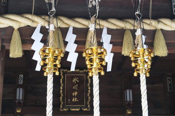 東新町氷川神社の本殿(東京都ときわ台駅)