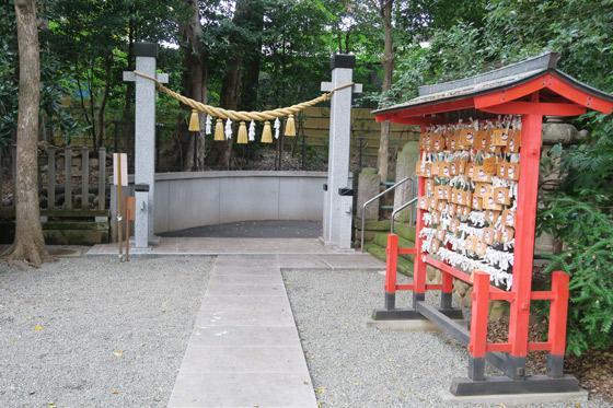 東新町氷川神社の絵馬(東京都ときわ台駅)