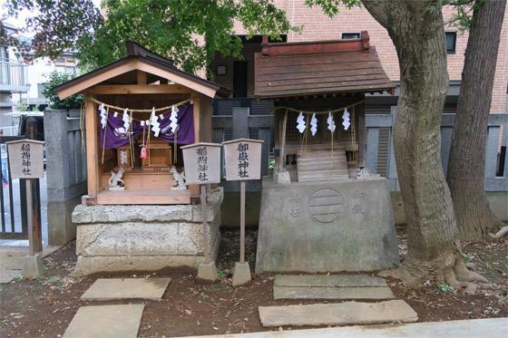 大谷口氷川神社の末社・摂社(東京都小竹向原駅)