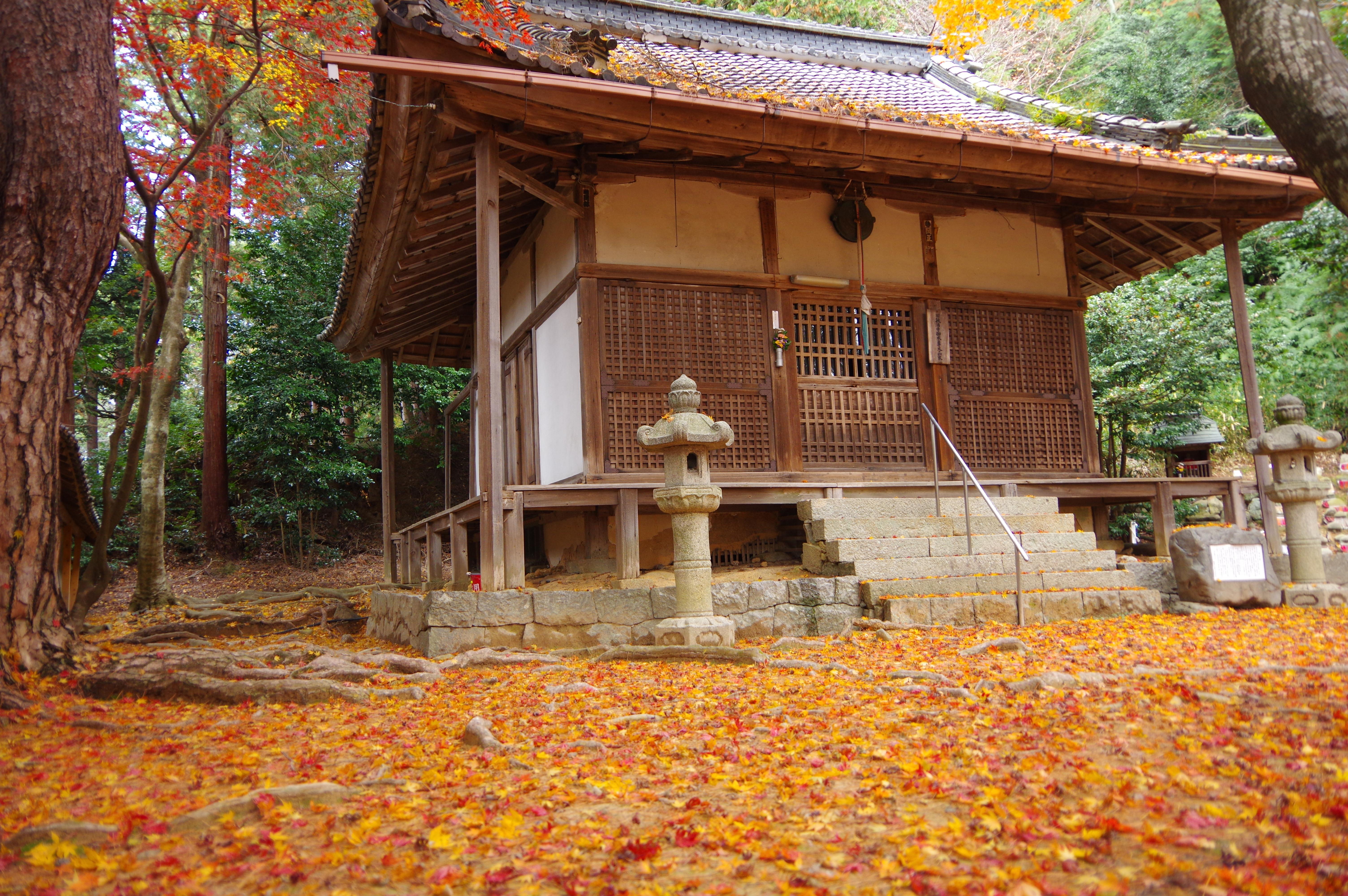 胡宮神社の本殿・本堂(滋賀県多賀大社前駅)