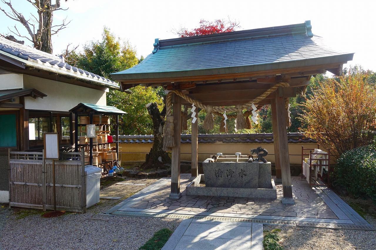 善福寺の手水