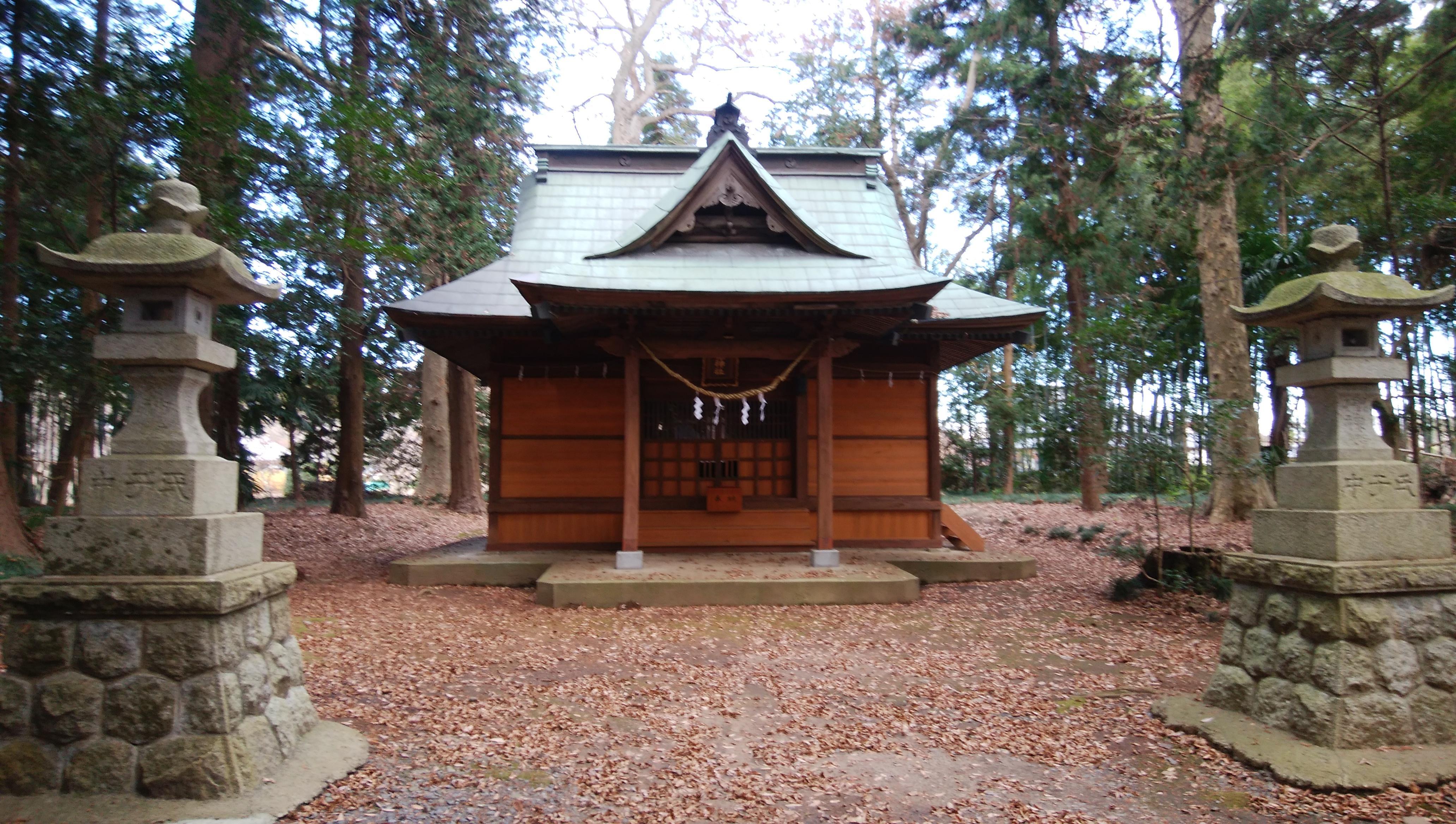 息栖神社の本殿