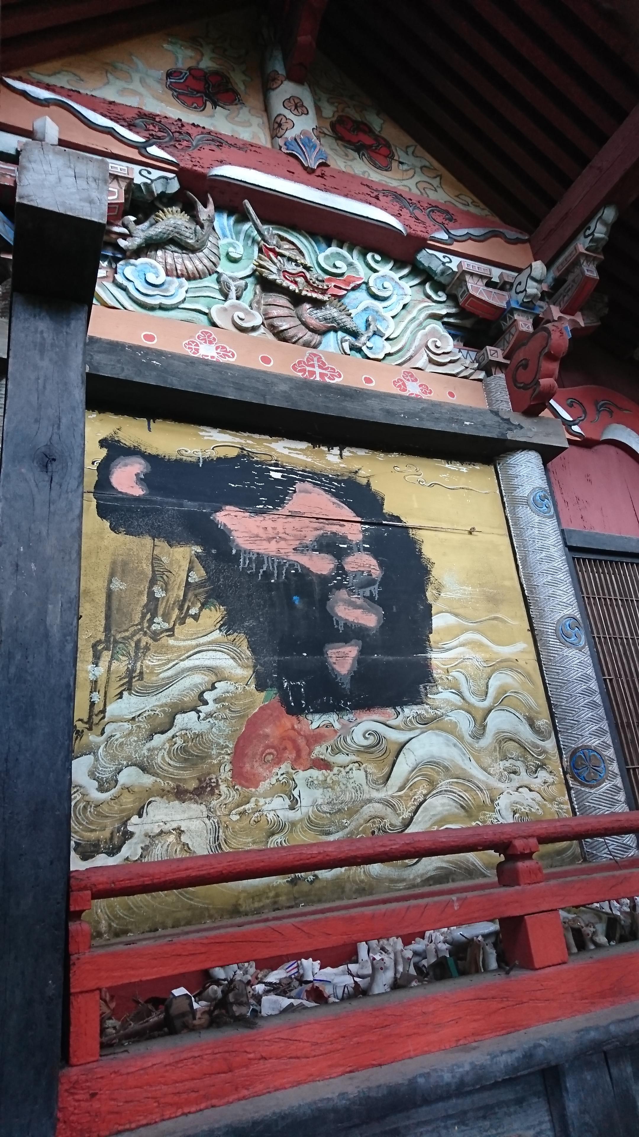 菅東山出世稲荷神社の芸術