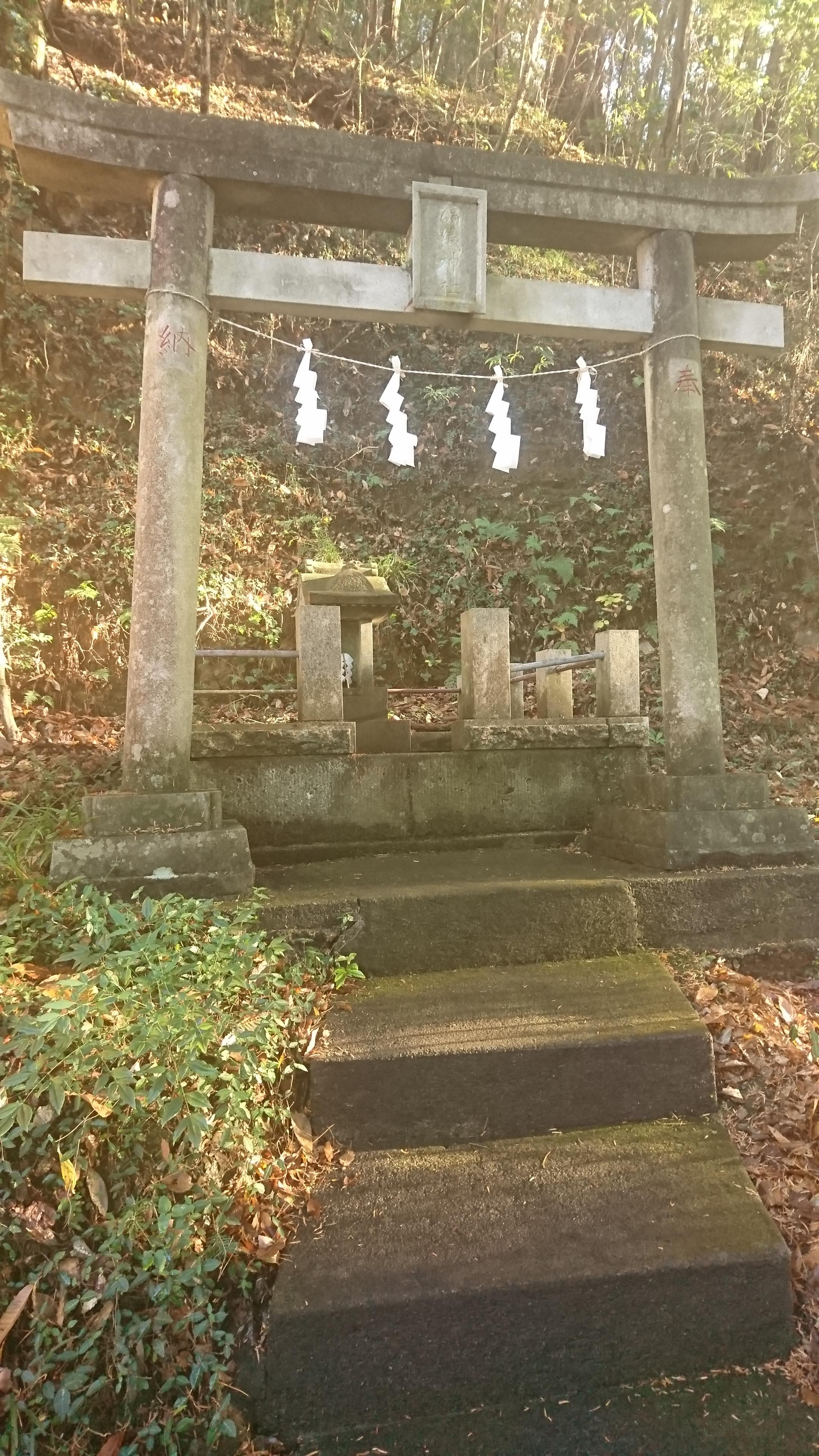 菅東山出世稲荷神社の鳥居
