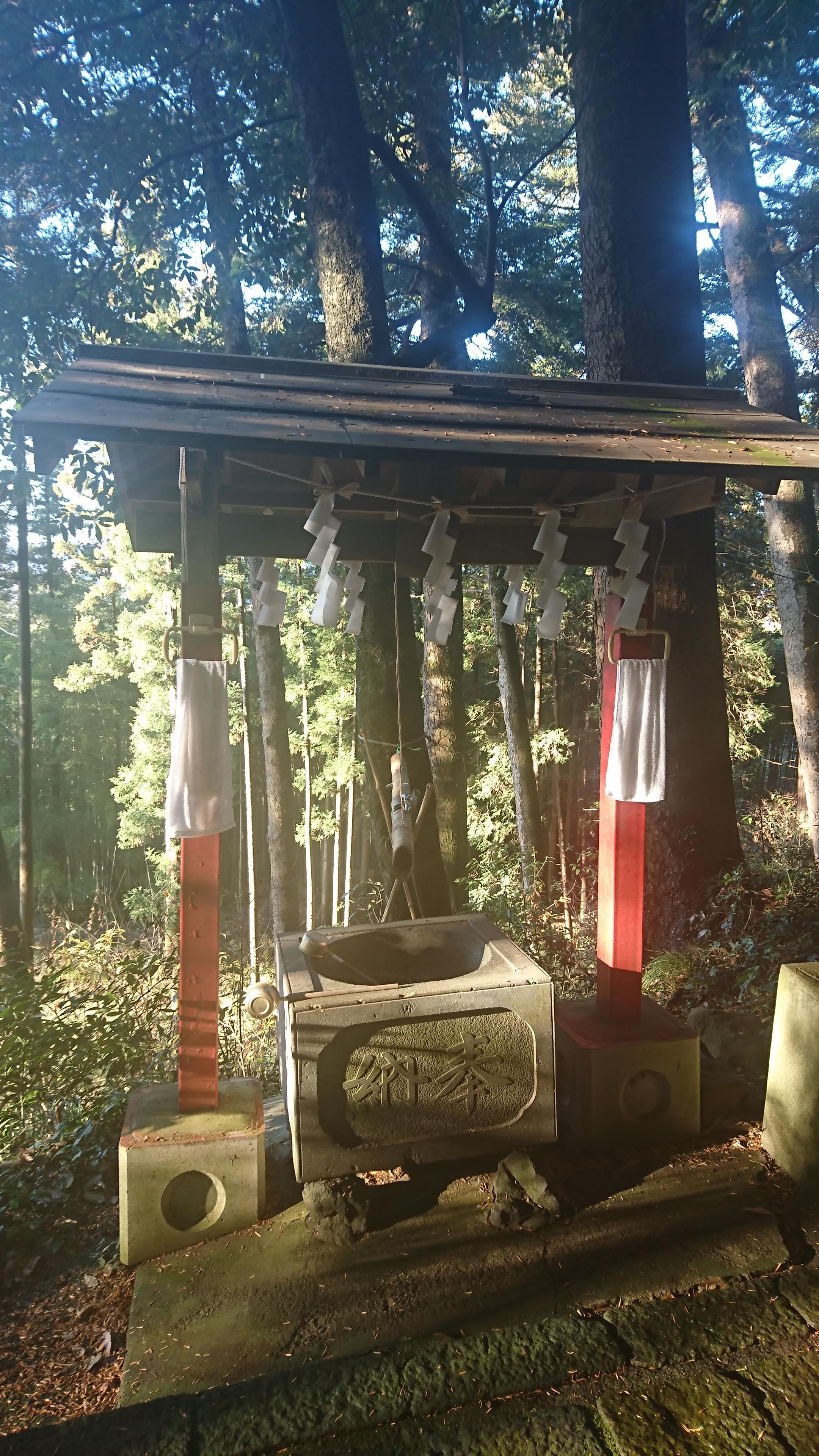 菅東山出世稲荷神社の手水
