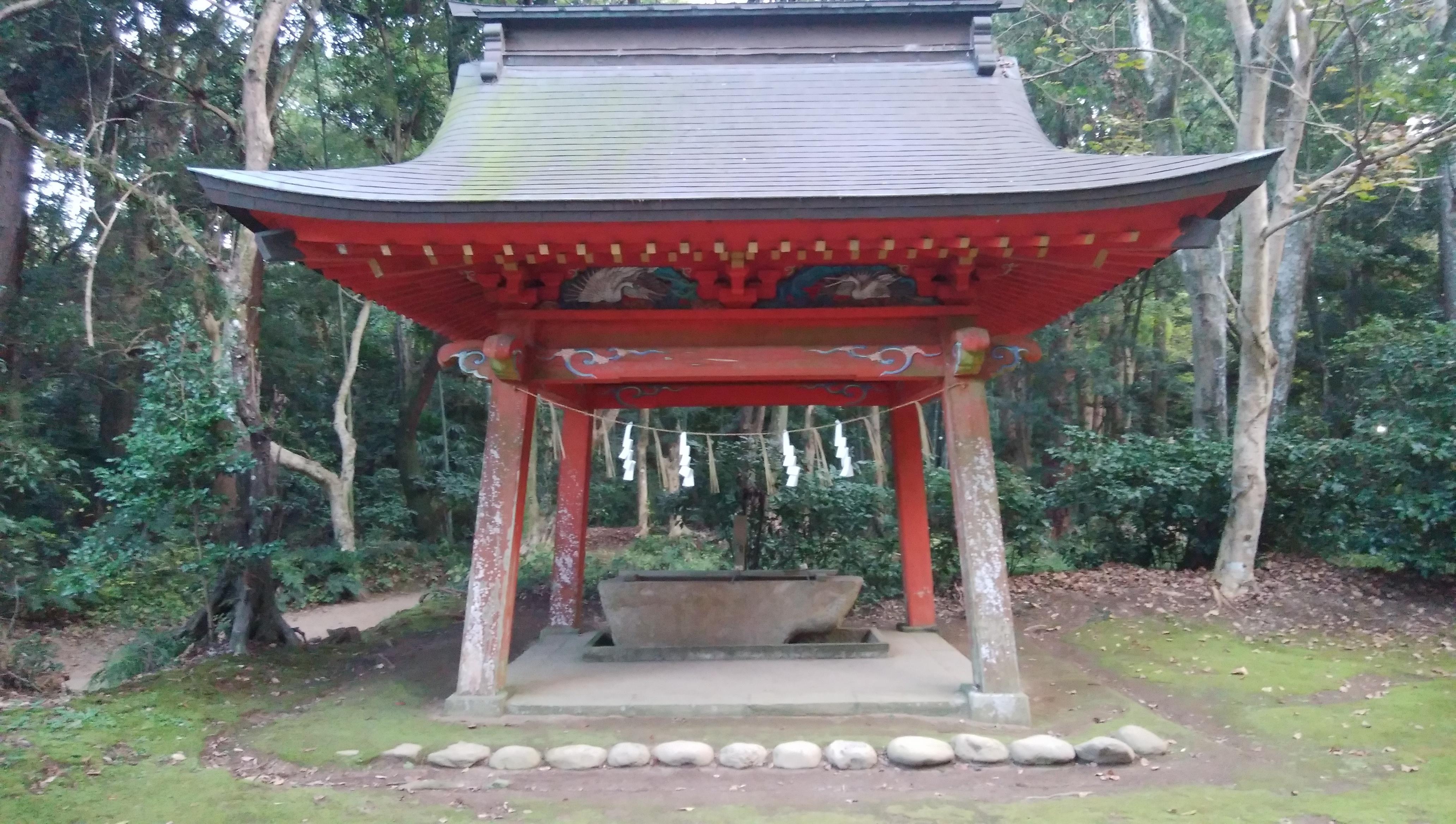 鹿島神宮の手水