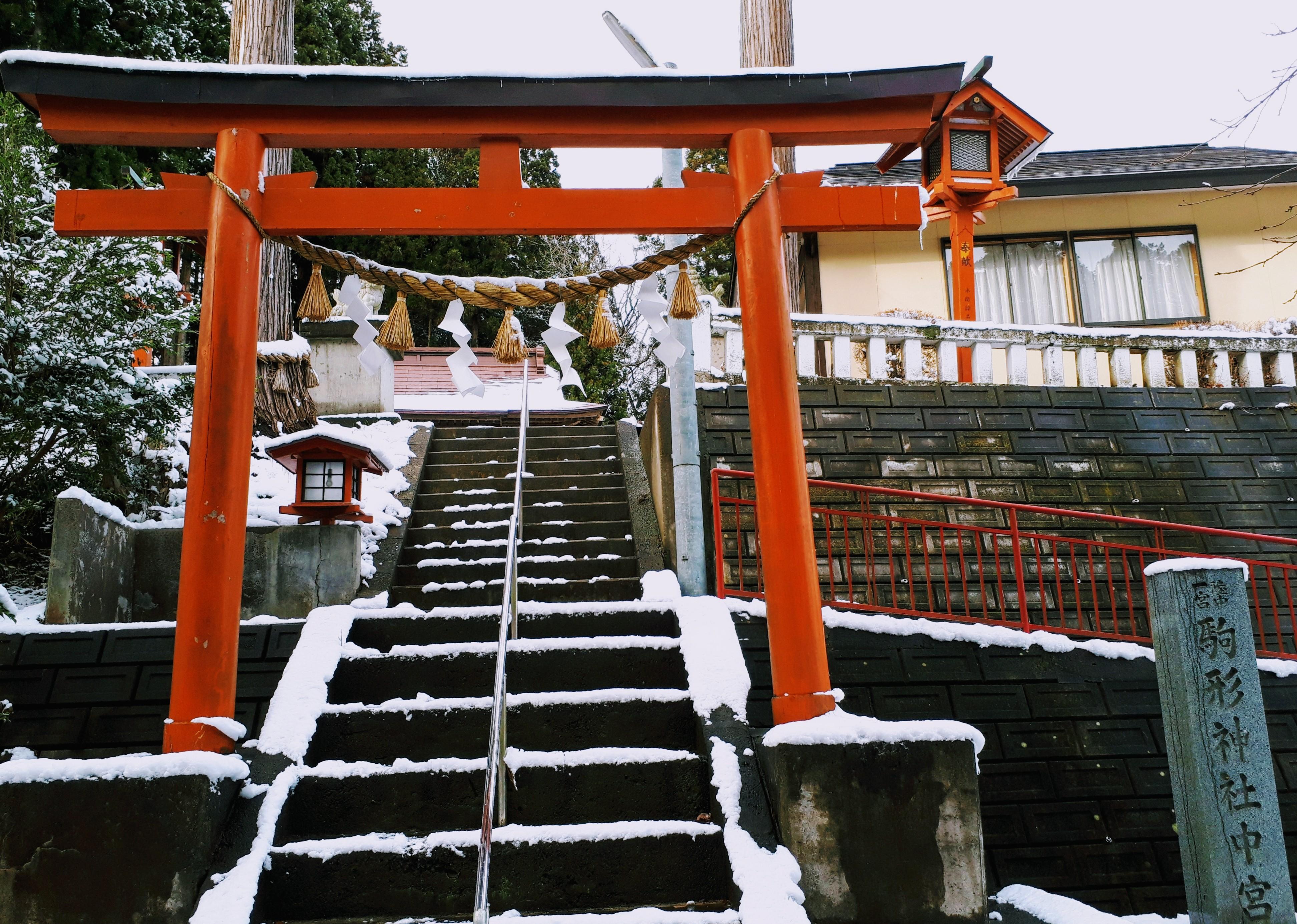 駒形神社の鳥居