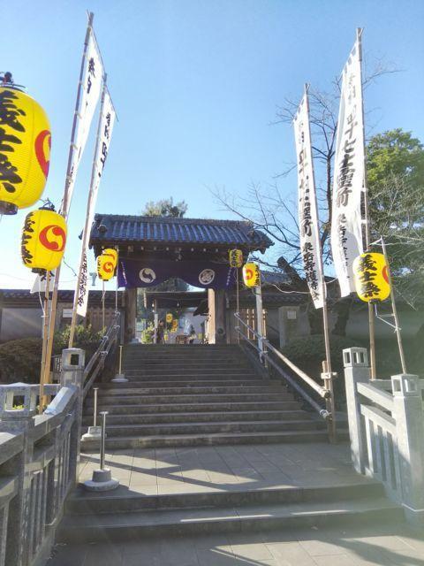 泉岳寺の山門・神門(東京都泉岳寺駅)
