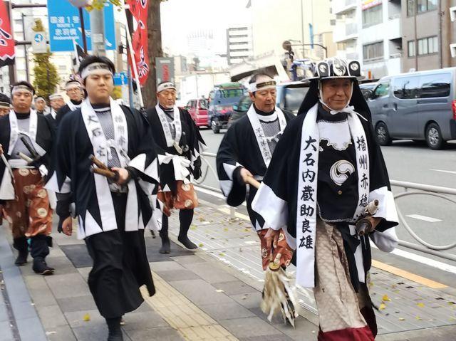 泉岳寺のお祭り(東京都泉岳寺駅)