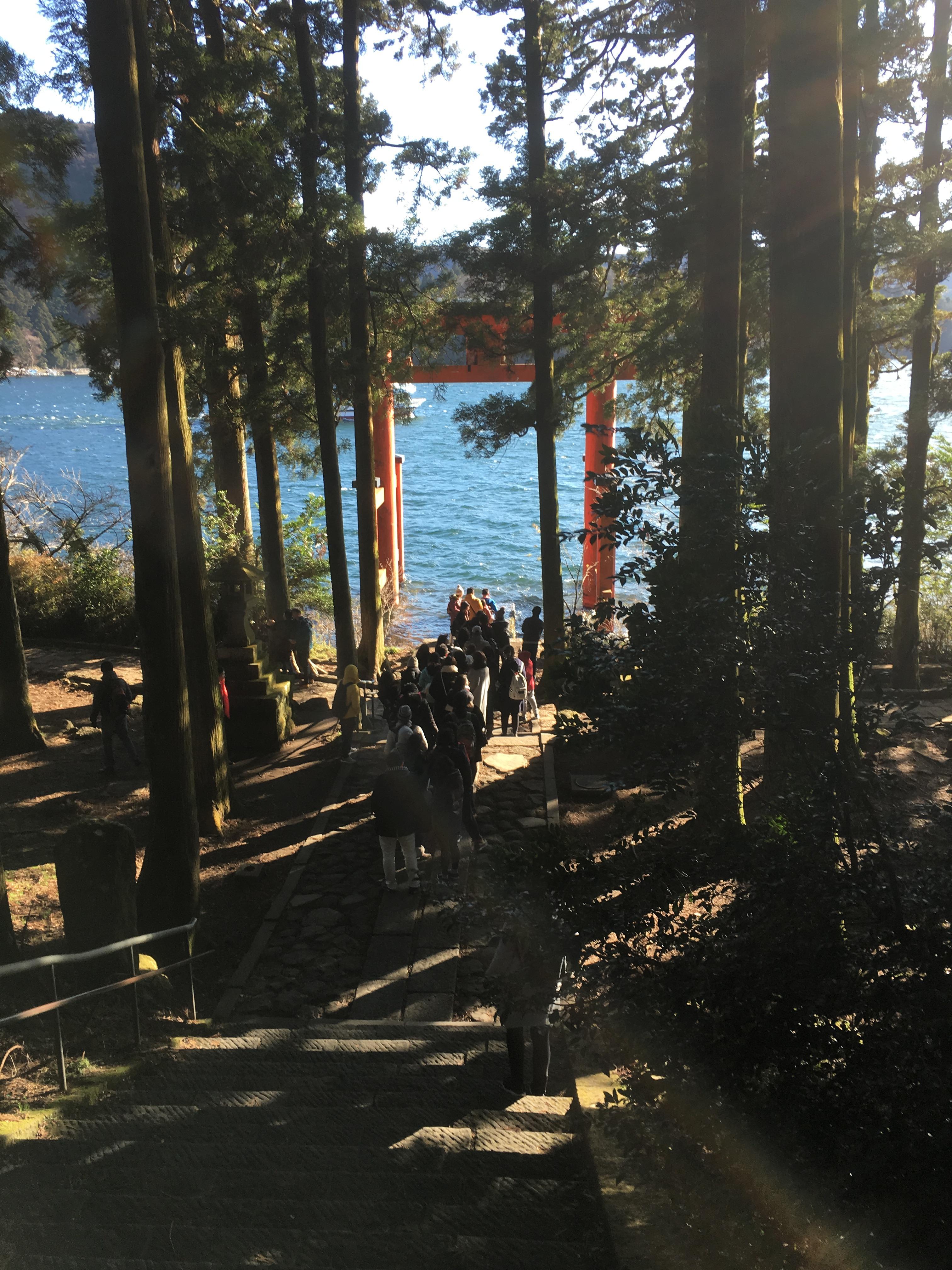 箱根神社の周辺