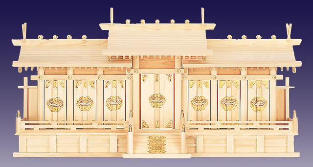 神棚の里「屋根違い七社」