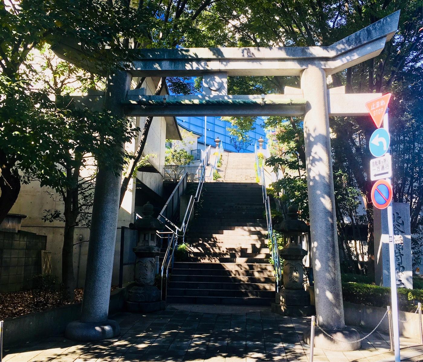 北谷稲荷神社の鳥居