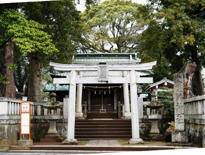 静岡県多賀神社の本殿