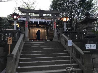 諏方神社の鳥居