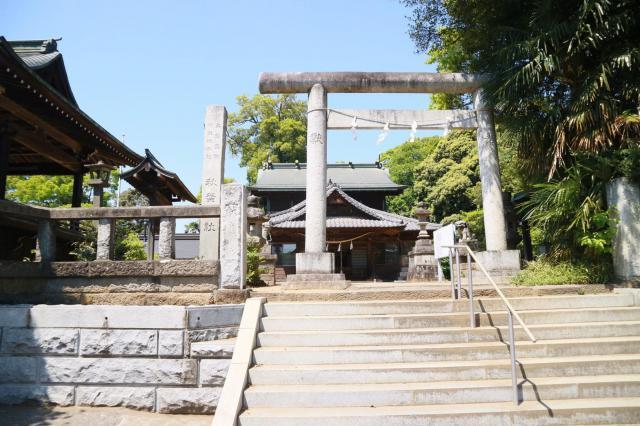 埼玉県秋葉神社の鳥居