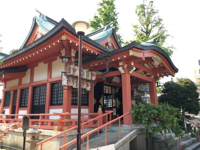 東京都菅原神社の本殿
