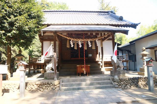埼玉県尾崎神社の本殿
