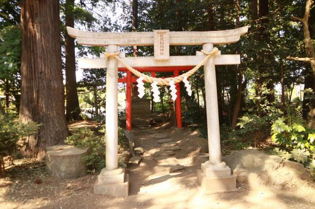 埼玉県尾崎神社の末社