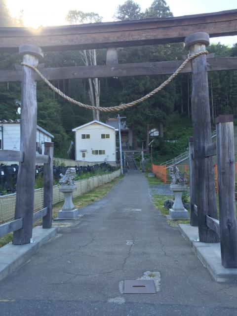 鵜住神社の鳥居