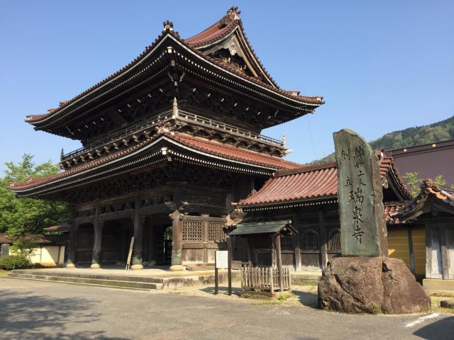 富山県井波別院瑞泉寺の山門