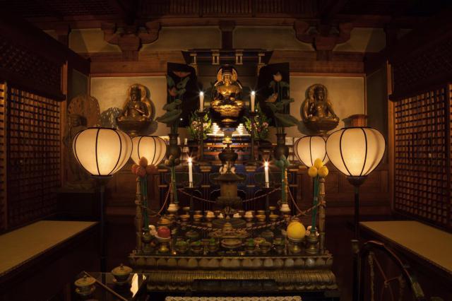 藤次寺(大阪府谷町九丁目駅) - 仏像の写真