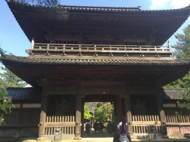 石川県天徳院の本殿
