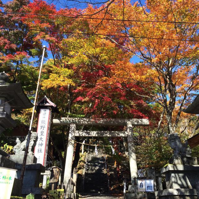群馬県熊野神社の本殿