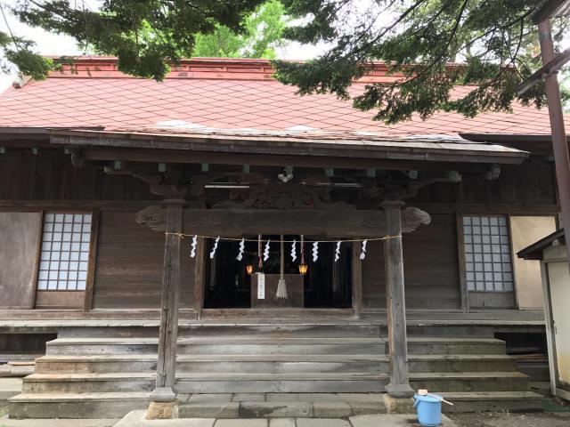 青森県神明宮の本殿