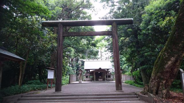 皇宮神社の鳥居