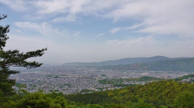 仁和寺の近くの神社お寺|霊山寺(仁和寺塔頭)