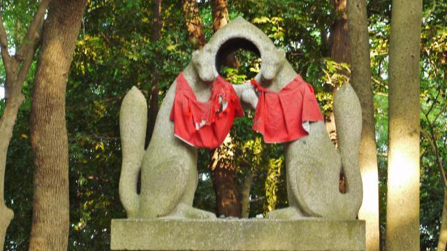 伏見稲荷大社の狛犬