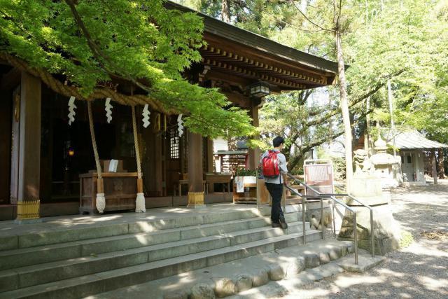 東京都阿蘇神社の本殿
