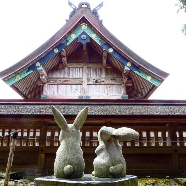 出雲大社の像