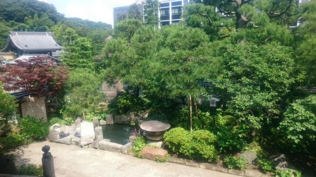 妙高院の庭園