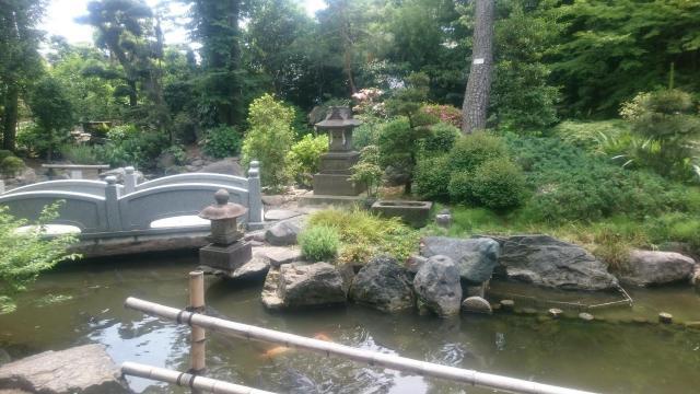 大鷲神社の庭園