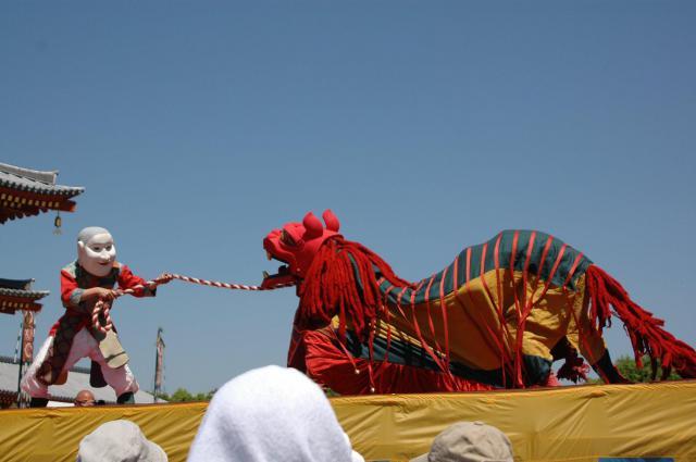 薬師寺のお祭り