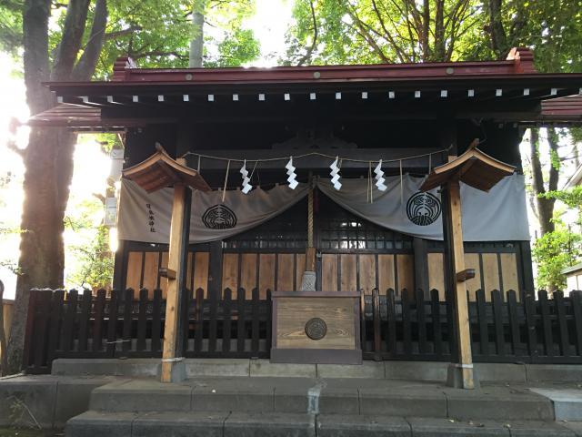 東京都羽根木神社の本殿