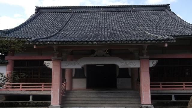 隆明山大栄寺の本殿