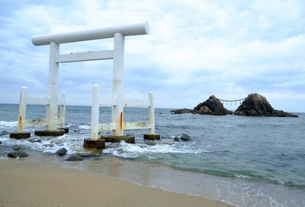 福岡県櫻井神社の鳥居