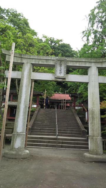 鹿児島県鹿児島神社の鳥居