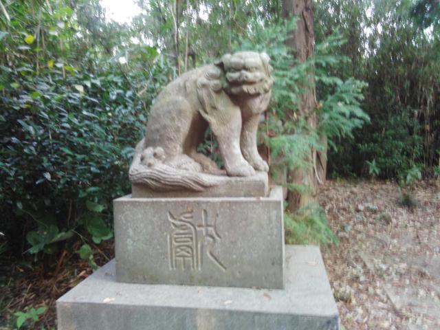 太田神社の狛犬