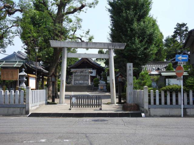 羊神社の鳥居