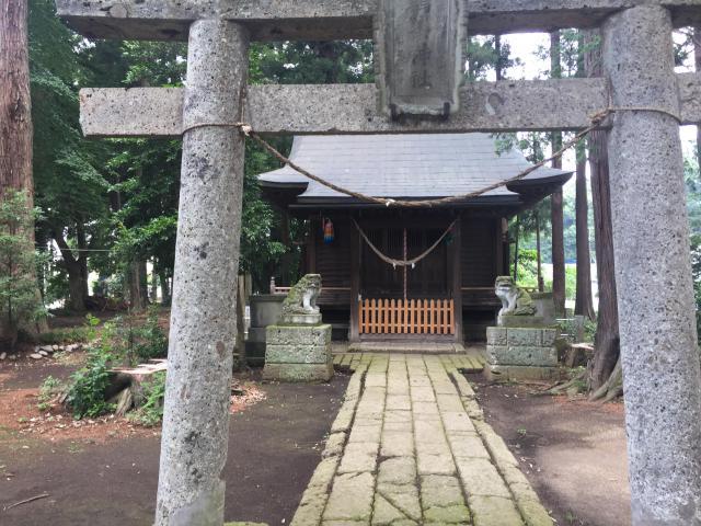 栃木県鶏峯神社の鳥居