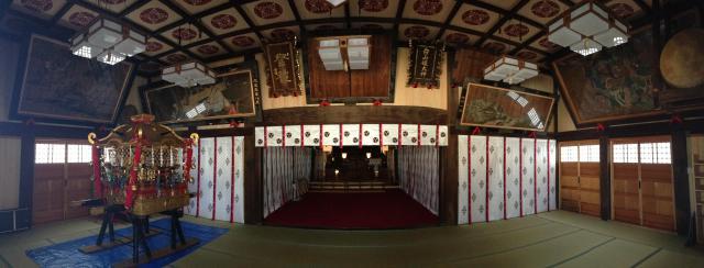 沼垂白山神社の建物その他