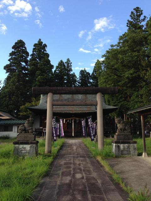 白子神社の鳥居