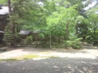 藤基神社の自然