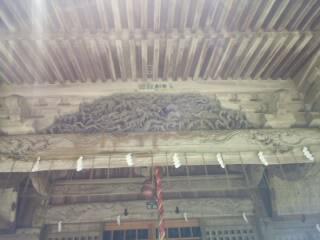 西奈弥羽黒神社の本殿